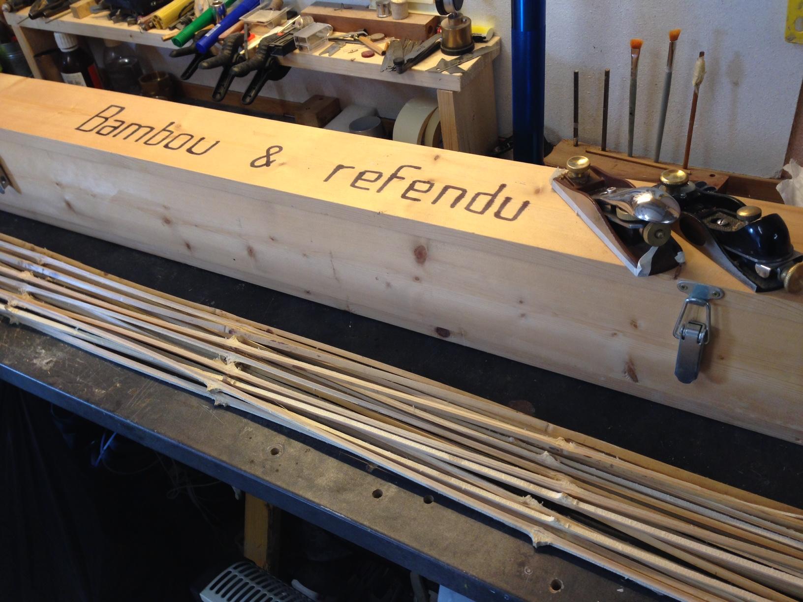lancer bambou refendu
